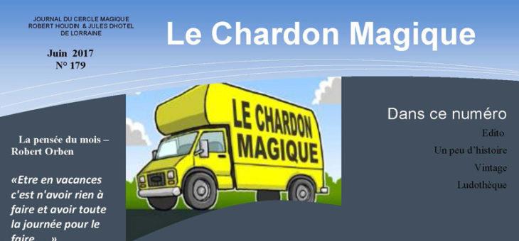 Publication du Chardon Magique n°179
