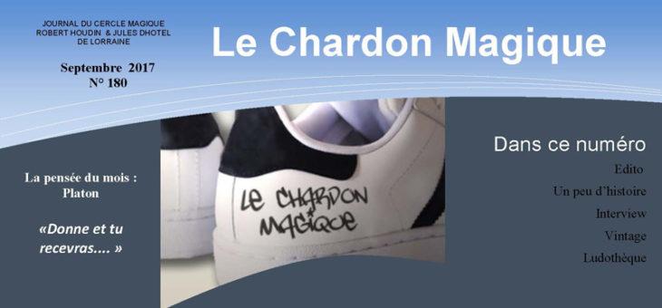 Publication du Chardon Magique n°180