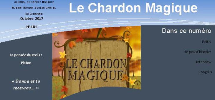 Publication du Chardon Magique n°181