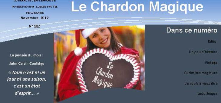 Publication du Chardon Magique n°182