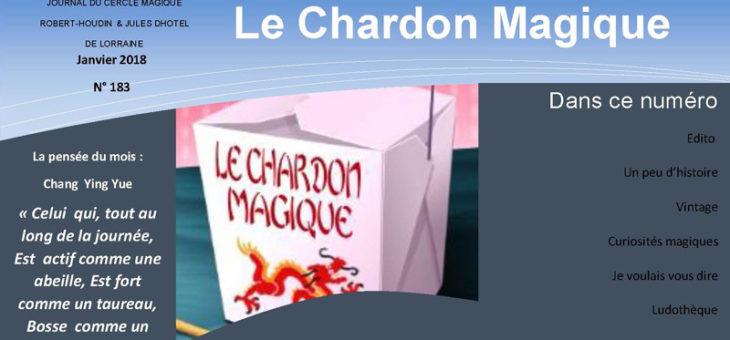 Publication du Chardon Magique n°183