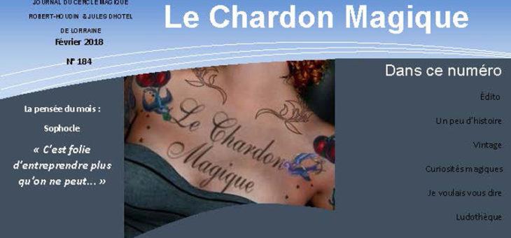 Publication du Chardon Magique n°184