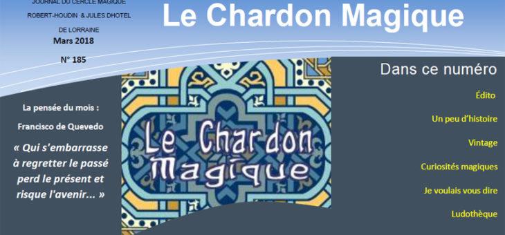 Publication du Chardon Magique n°185