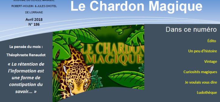 Publication du Chardon Magique n°186