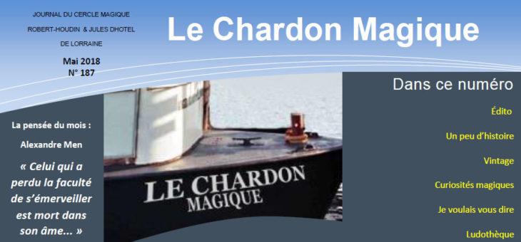 Publication du Chardon Magique n°187