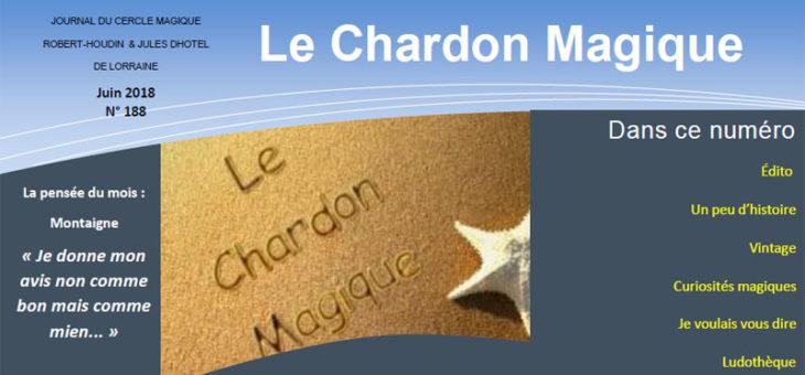 Publication du Chardon Magique n°188
