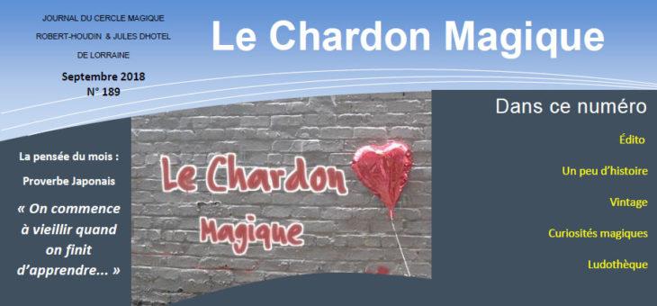 Publication du Chardon Magique n°189
