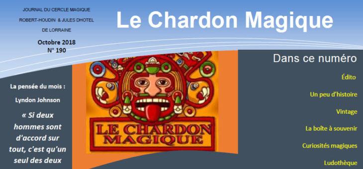 Publication du Chardon Magique n°190